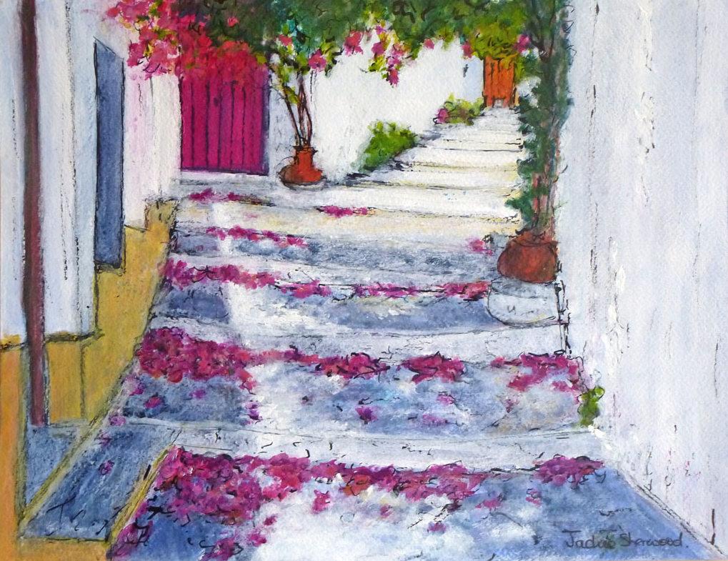 BouganvilliaPath_Skopelos