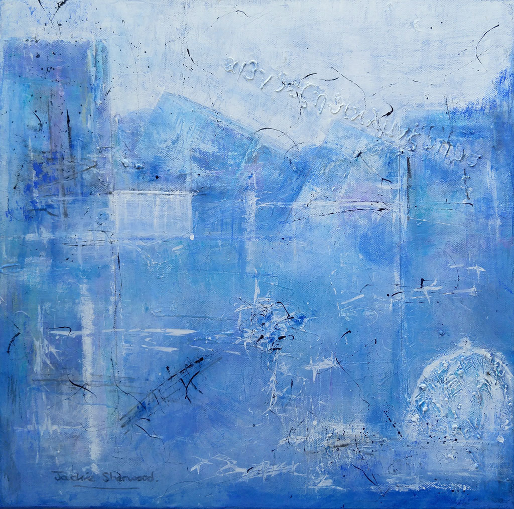Jackie Sherwood Painting Abstracts Softly Softly