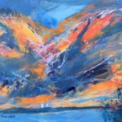 Abstracts Gallery - Farewell South Island #2