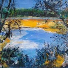 Jackie Sherwood Painting New Zealand Seeking Solitude